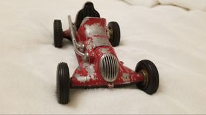 👀🙋♂️ VINTAGE 1950's ROY COX ~ THIMBLE DROME ~ TEATHER CAR RACER. EXTREMELY RARE! GREAT OVERALL CONDITION! asking $150.00 for Sale in Bakersfield, CA