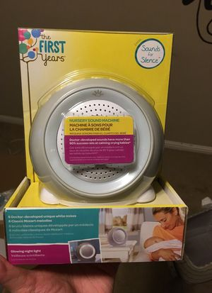 nursery sound machine for Sale in Modesto, CA
