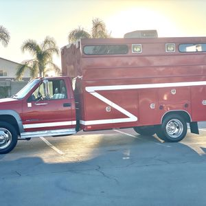 1995 GMC 3500HD 6.5 Diesel With Only 6,000 for Sale in Corona, CA