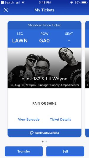 Blink 182 and Lil Wayne for Sale in Oregon City, OR