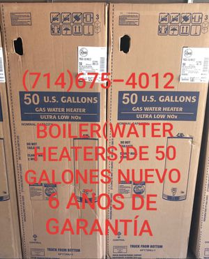 BOILER(WATER HEATERS)DE 50 GALONES NUEVO DE LA MARCA RHEEM!!!! for Sale in Santa Ana, CA