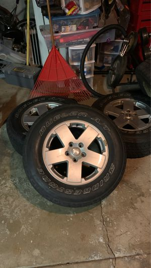Jeep wrangler original wheels for Sale in Elmhurst, IL