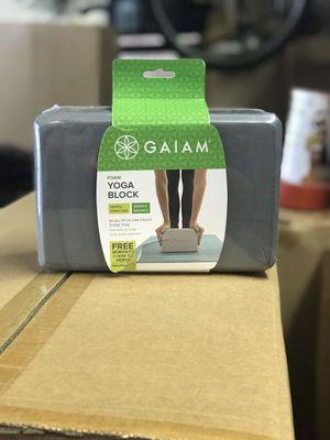 NEW - Gaiam Foam Yoga Block for Sale in Lake in the Hills, IL