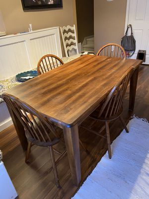 Dining table and chairs for Sale in Kernersville, NC
