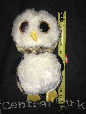 Ty owl plush toy soft bird teddy bear for Sale in Atlanta, GA