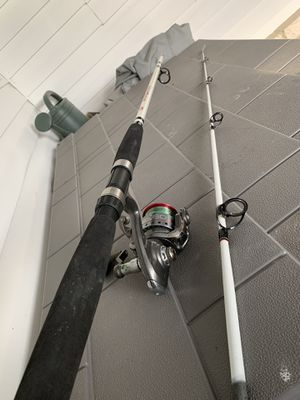 Big Game Rod with OPTX 60 Quantum Reel for Sale in Lake Alfred, FL