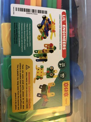 Lil engineers construction blocks STEM toy ETI Toys for Sale in Mesa, AZ
