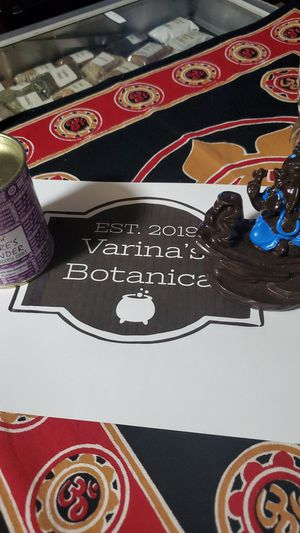Ganesh backflow incense burner with one can of lavender backflow incense for Sale in San Antonio, TX