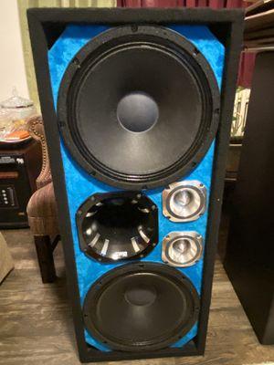 """B&C 12"""" 1600W Speaker8-Ohm,,,. DS18 Driver Aluminum Horn 8 ohm,,,.. 400W Audiopipe Titanium Super Tweeter hablo español for Sale in Baltimore, MD"""