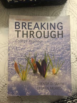 Breaking through college reading (10th Edition) for Sale in Hialeah, FL