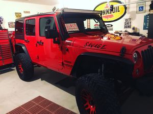 2017 Jeep Wrangler unlimited sport for Sale in Crowley, TX
