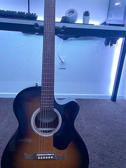 Fender FA-135CE Concert Acoustic-Electric Guitar Sunburst for Sale in Los Angeles,  CA