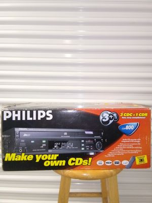Philips Make your own CD Audio for Sale in Miami, FL