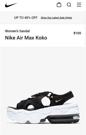 Airmax sandles for Sale in Ridgefield, WA