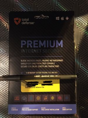 Premium Internet Security by total defense for Sale in Cypress, TX