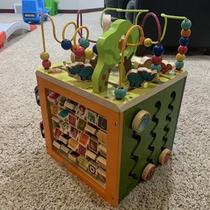 Zany Zoo Activity Cube - B. toys for Sale in Brecksville, OH