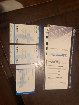 Seahawks vs Ravens Tickets October 20 for Sale in Tacoma, WA