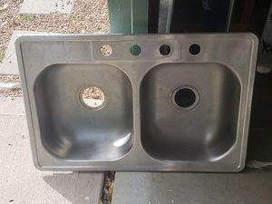 Elkey Stainless steel kitchen sink for Sale in Denver, CO