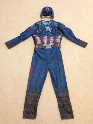 Captain America costume (small 5-6) for Sale in Grafton, MA