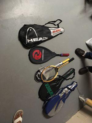 Tennis rackets for Sale in Alexandria, VA