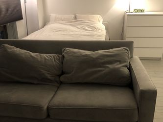 West Elm Dove Gray Henry Sofa for Sale in New York,  NY