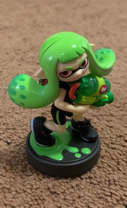 Green Inkling Girl Amiibo (Nintendo Wii U / Nintendo Switch) for Sale in Los Angeles,  CA