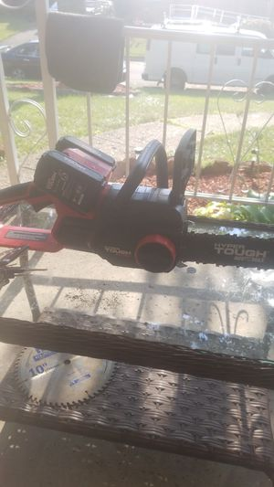 Hyper tough 40v max chainsaw for Sale in Columbus, OH