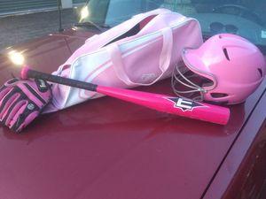 Baseball bag, bat, helmet & glove for Sale in Fenton, MO