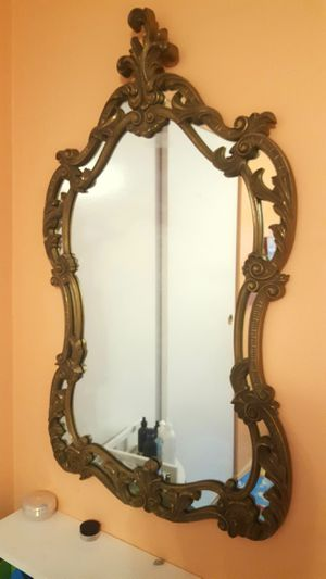 Antique big mirror for Sale in Hoffman Estates, IL