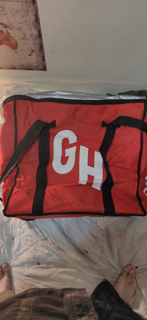 Grubhub delivery backpack for Sale in Chicago, IL