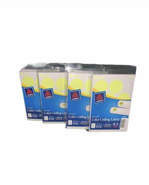 Pack of four Avery color coding labels for Sale in Edmonds, WA