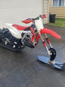 2013 Crf 450r Snowbike Timbersled for Sale in Issaquah,  WA