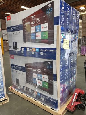 """75S423 75"""" TCL UHD 4K HDR ROKU TV for Sale in City of Industry, CA"""