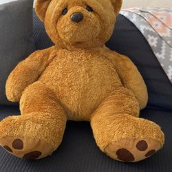 Brown Bear Cuddly Stuffed Animal Sitting Down Posture for Sale in Beverly Hills,  CA