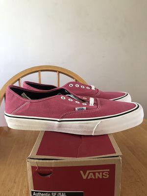 Brand new vans authentic desert rose skate skateboard shoes men's size 13 for Sale in La Mesa, CA