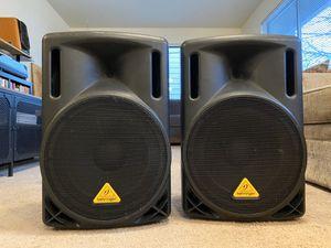 "2 DJ/Music PA 550W 12"" Powered Speakers for Sale in Seattle, WA"