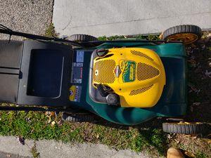Yard man self propelled lawn mower w bag for Sale in Central Falls, RI