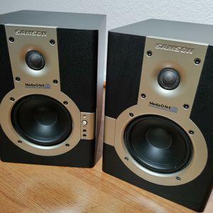 Samson Mediaone 5a Studio Monitors Pair for Sale in Ontario, CA