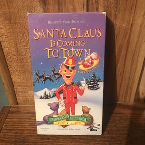 Santa Claus Is Coming To Town VHS for Sale in Euclid, OH