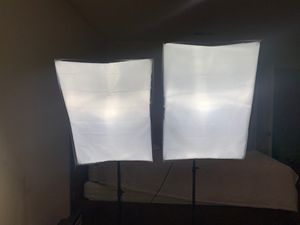 Soft box lightings *NEW CONDITION* for Sale in Torrance, CA