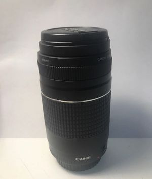 Canon Cannon zoom lens 75-300mm for Sale in San Francisco, CA