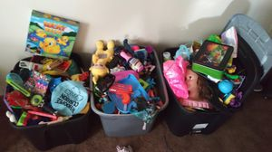 3 tote Toy lot for Sale in Monrovia, CA