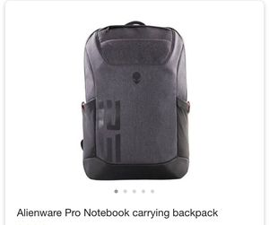 New Alienware pro notebook carrying backpack for Sale in Anaheim, CA