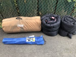 Coleman sleeping bags and more for Sale in Snoqualmie, WA