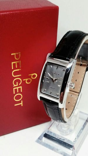 Peugeot Women's Contour Leather Dress Watch New in Box for Sale in Boca Raton, FL