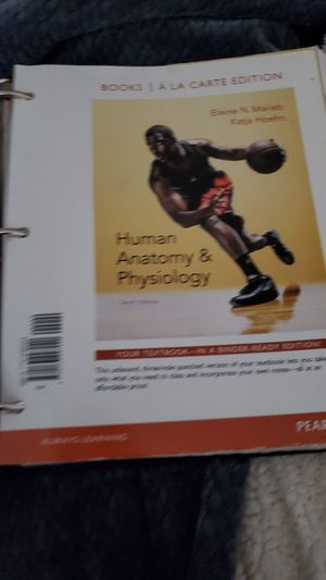 Anatomy and physiology book for Sale in Beavercreek, OR