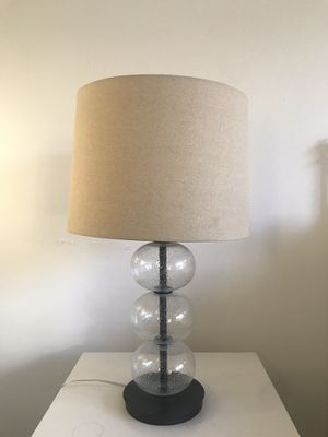 Glass Lamp Fixture & Lamp Shade for Sale in Los Angeles, CA