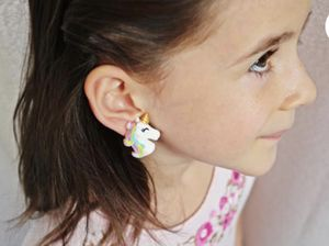 Brand New Clip on Unicorn Earrings for Little Girls for Sale in Columbia, MO