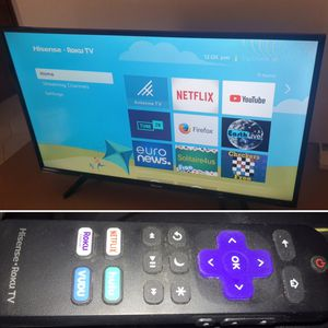"ROKU SMART TV 40"" HISENSE for Sale in Dallas, TX"