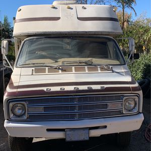 Parting out Or Dor Sale The Dodge Motor home No Pink Slip But Will Part Outperform Sale for Sale in Vista, CA